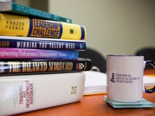 Stack of Human Resources Books