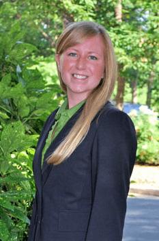 Photo of presenter and FMP employee Ashley Agerter Raitor