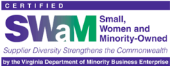 Certified SWaM: Small, Women and Minority-Owned