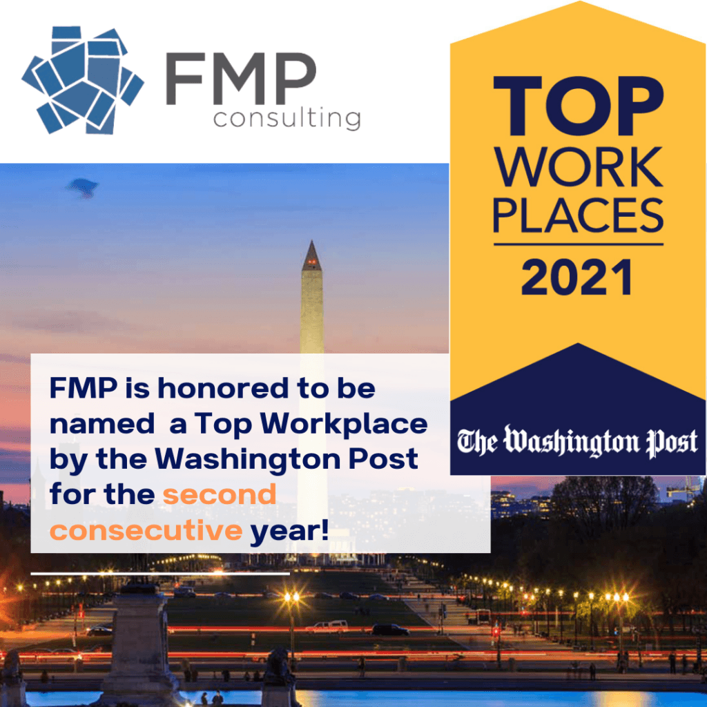 FMP named one of the Washington Post's 2021 Top Workplaces